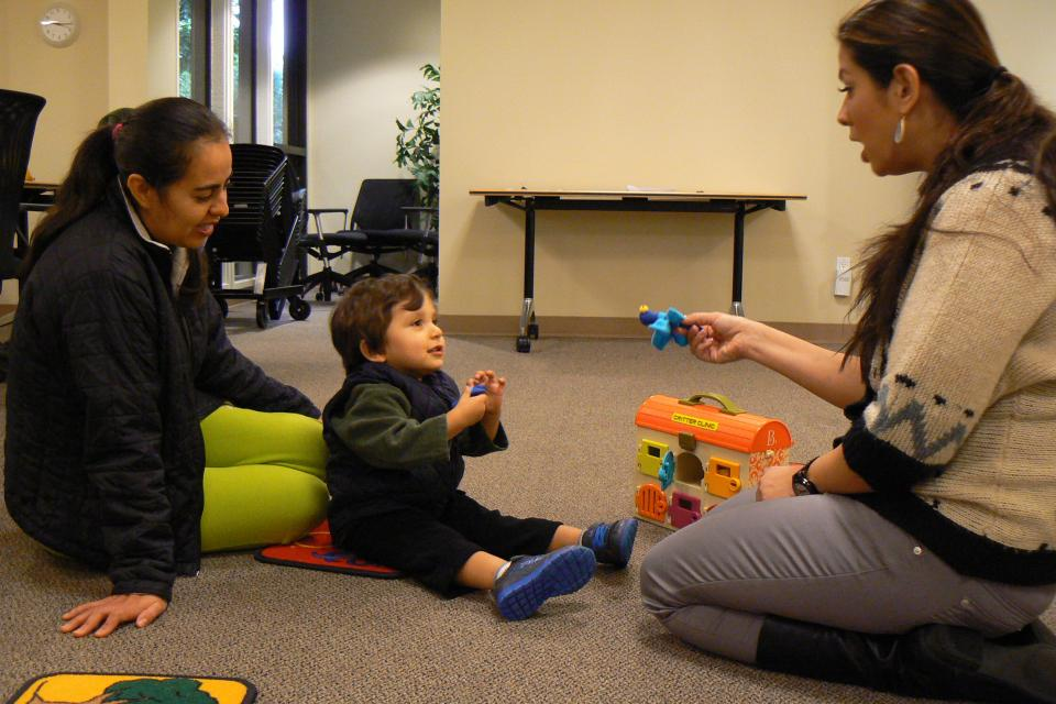 Hand in Hand: Early Intervention